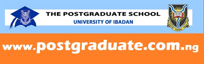 University of Ibadan Postgraduate Admission Form - 2017/2018